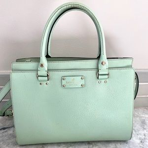 Kate Spade Mint Green Purse